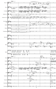 "Stravinsky - Firebird ""The Firebird's Supplications"" Page 36 (Measures 231-235)"