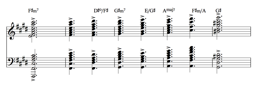 52.1 Grieg - Peer Gynt - Morning 26 - 30 chords