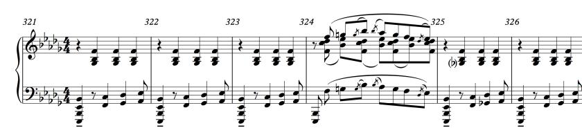 55.1 Stravinsky - Rite of Spring 321-326 (reduction)