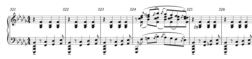 55.1 Stravinsky - Rite of Spring 321-326 (reduction)