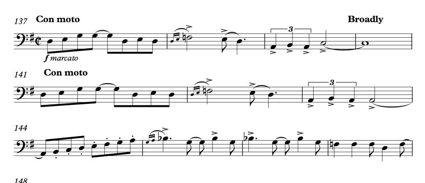 58.1 Gershwin - Rhapsody in Blue 137-147 - Violoncello