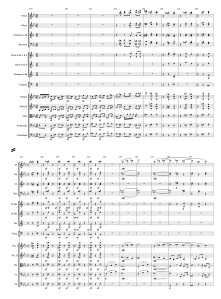 59.1 Beethoven - Symphony No.3, Mvmt 1 (119-134) Score Page