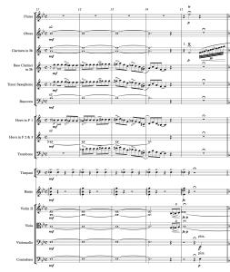 59.10 Gershwin - Rhapsody in Blue 11-16 Score Page