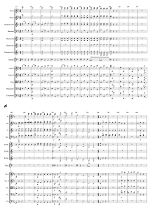 59.2 Beethoven - Symphony 3, Mvmt 3 (375-400) Score Page