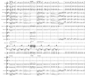 59.8 Gershwin - Rhapsody in Blue 137-147 Score Page