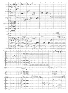 60.1 Gershwin - American in Paris 353-382 Score page